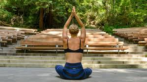 yoga retreats spas aris seaberg practices in the cathedral at 1440 multiversity