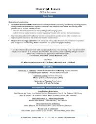 Ceo Resume Writing Operations Leadership 2017 Ceo Resume Example ...