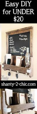 150 best holiday gift ideas images on pinterest gift ideas Wedding Gift Ideas Under 20 diy chalkboard mail station~ this would be a fun gift idea for a house warming wedding gift ideas under 20