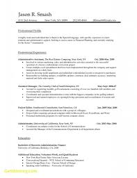 Free Resume Examples An Effective Chronological Resume