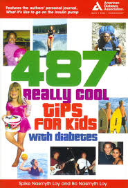 children diabetes books for kids and teens type  try 487 really cool tips for kids diabetes by spike and bo loy two young men who grew up as kids diabetes