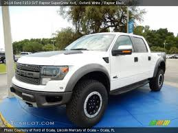 ford raptor 2014 white. Unique White 2014 Ford F150 SVT Raptor SuperCrew 4x4 In Oxford White With D