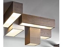 wood lighting. Modular Wooden Ceiling Lamp DISEGNODILEGNO | Wood Lighting