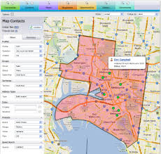 integration with google maps to produce heat maps and ability to
