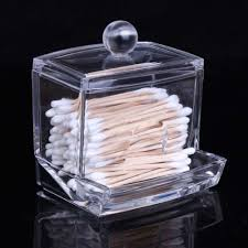 ... box factories Suppliers: 2016 New Creative Clear Acrylic Storage Holder  Box Transparent Cotton Swabs Stick Cosmetic Makeup Organizer Case High  Quality