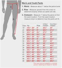 Kohls Mens Size Chart Inspirational Jean Waist Size Conversion Chart