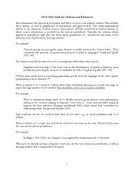 Apsa Style Case Citation Citation