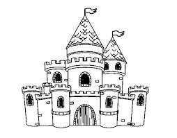 Disegno Castello Per Bambini Migliori Pagine Da Colorare