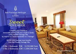 Bali Paradise Heritage Villa Jimbaran A Wonderfull Holiday In The Mesmerizing Bali 2 Bedroom Villas Concept