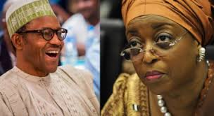 President Buhari has ordered that Interpol arrest former petroleum minister Diezani MAdueke immediately