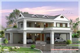 Sloping Roof Design Ideas Slope House Plans Simple 5 Sloping Roof Home Plan Kerala