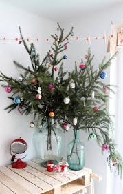 Christmas Tree Branches Bouquet in Vase as Tree - What do to with leftover  trimmed Christmas