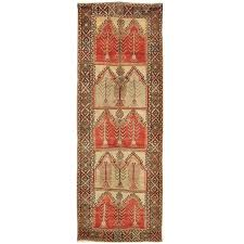 vintage wide tribal turkish runner rug for
