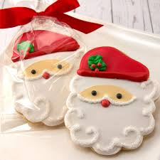 Some of these christmas cookies look really easy to make, while others take a little more work. Amazon Com Santa Christmas Cookies Holiday Cookies 12 Decorated Sugar Cookies Grocery Gourmet Food