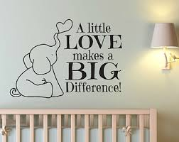 mural black stickers a little love makes a big difference lighted lamp appealing elephant wall art on baby boy room decor wall art with wall art lastest decor about elephant wall art nursery elephant