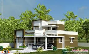 Small Picture 1365 sq ft 2 bedroom small house design Kerala home design and