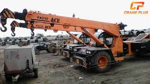 Ace Fx230 23 Tons Crane For Hire In Pithampur Madhya