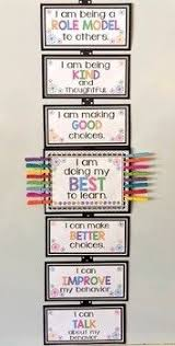 Positive Behavior Charts For Middle School Positive Behavior Clip Chart Teaching Behavior Clip