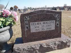 Velma Riggs Malone (1915-2001) - Find A Grave Memorial
