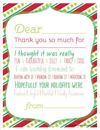 Fill In Thank You Cards Make Sending Thanks Notes To Friends And Relatives  Fun For Your ...