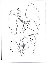 Dombo Ooievaar Kleurplaten Baby