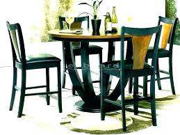 tall dining table tall round