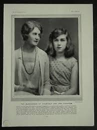Titchfield Ivy Gordon-Lennox Anne Cavendish Bentinck 1929 1 Page Photo  Article | #1533871696