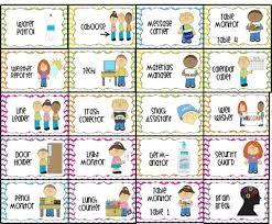 Classroom Job Labels Printable