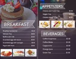 breakfast menu template customizable design templates for breakfast menu postermywall