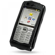 Sony Ericsson P990i P990 Leather Flip ...