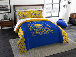 golden state warriors queen full size comforter and 2 shams