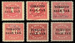 Image result for tax stamp cigarette
