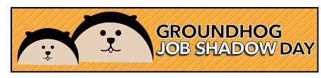 groundhog job shadow day career technical education