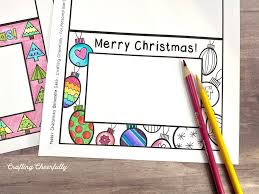 Make the holidays special with a activity village printable christmas cards to color has 17 different cards ranging from snowy print out some of these free cards to color, and add a little extra cheer to someone's christmas mail. Free Printable Holiday Coloring Cards Crafting Cheerfully