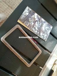 to replace a broken car sun visor mirror