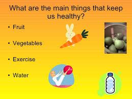 keeping healthy powerpoint keeping healthy 2