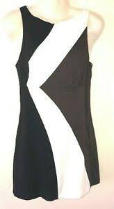 Bebe Intimates Size Chart Bebe Dress Xxs Linen Color Block Shift Knee Length