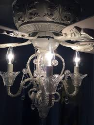 extraordinary crystal chandelier ceiling fan 2 lamps plus light kit