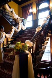 Tulle Fabric Wedding Decorations 17 Best Ideas About Wedding Staircase Decoration On Pinterest