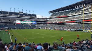 seat view for lincoln financial field section 127