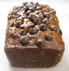 chocolate chip banana bread loaf