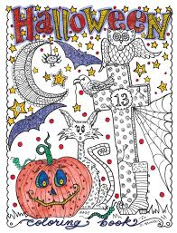 Best Halloween Fall Coloring Books For Adults