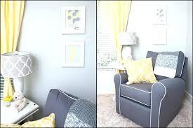 yellow and grey baby curtains chevron nursery lemon boy tour bedrooms licious nurser