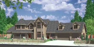 house front color elevation view for 9985 house plans bay windows luxury master suite pass thru