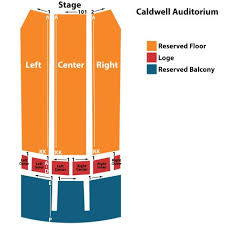 Caldwell Auditorium Tyler Tx Seating Chart Reserved Artist Circle