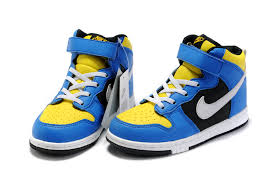 nike shoes high tops for boys. official kids nike dunk high top blue yellow white shoes tops for boys i