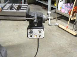 bridgeport 6f 8f powerfeed the machinery repair shop p1040324