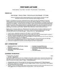 Sales Director Resume Sales Director Resume Sample Regional Sales Simple Director Of Sales Resume