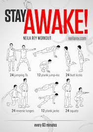 best ways to stay awake stay awake workout if you need to work late and stay focused