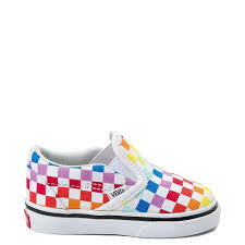 Vans Infant Shoe Size Chart Toddler Vans Slip On Rainbow Chex Skate Shoe Vans Slip On